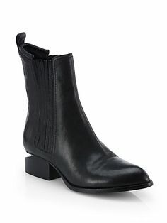 Alexander Wang - Anouk Leather Chelsea Boots - Saks.com