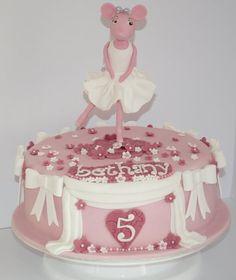 Angelina Ballerina  Cake by TheCornishCakery