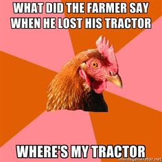 Best Of The Anti-Joke Chicken Meme - Jokes - Funny memes - - Anti Joke Chicken omg. I don't know why but this is hilarious to me. I laughter for like 20 minutes The post Best Of The Anti-Joke Chicken Meme appeared first on Gag Dad. Stupid Jokes, Corny Jokes, Terrible Jokes, Dark Humor Jokes, Inappropriate Jokes, Math Jokes, Math Humor, Science Memes, Kid Jokes