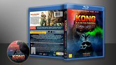 Kong - A Ilha Da Caveira (Blu-Ray) - Capa | VITRINE - Galeria De Capas - Designer Covers Custom | Capas & Labels Customizados