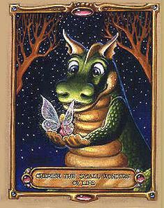 Dragon art by Randal Spangler Dragon Cat, Baby Dragon, Red Dragon, Magical Creatures, Fantasy Creatures, Fantasy Dragon, Fantasy Art, Randal, Dragon's Lair