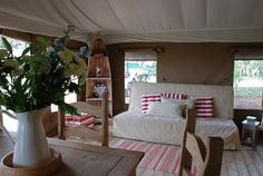 Harvest Moon - Luxury treehouses   fabulous safari-style tents with views to Bass Rock and the sea. Near Edinburgh