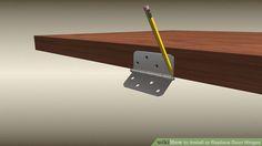 How to install door hinges
