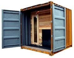 Container Sauna (by castordesign.ca)