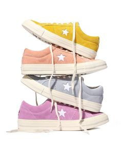 How To Wear Converse Boots Christmas Gifts 51 Ideas Converse Rose, Estilo Converse, Yellow Converse, Converse One Star, Outfits With Converse, Converse Style, Converse Sneakers, Sock Shoes, Tumblr Outfits