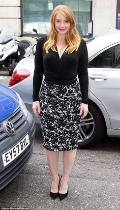Hard-worker: The actress is in town to promote her latest flick Pete's Dragon, which she s...