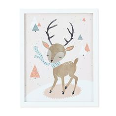 Winter Deer in Nod Institute of Art | The Land of Nod  |  The ultimate in affordable art gifts for kids