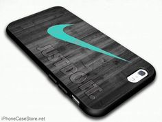 Nike Mint Just Do It Wooden Design For IPhone 6/5/4 Case