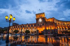 Republic Square - Armenia 365
