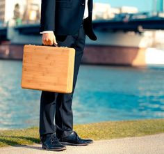The Companion Bamboo Briefcase – Men's Gear