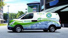 GeoWash van in South Africa
