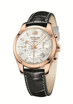 A timeless collection for the world of horse-racing Longines the Conquest Classic Collection - Conquest Classic Ø41.00 Chronograph (PR/Pics http://watchmobile7.com/data/News/2013/02/130218-longines-conquest_classic.html) (1/2)