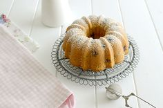Blueberry orange bundt cake - Bundt cake de arándanos y naranja