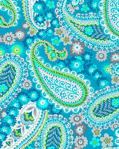 eQuilter Gypsy - Petals & Paisleys - Turquoise