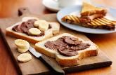 Have to get some bananas so I can try this, looks delicious! Chocolate Philadelphia toasties :)