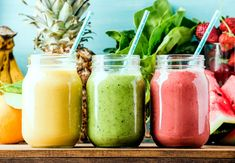 juice Benefits 10 Best Detox Smoothies For A Flat Belly Cleanse – The … - Detox smoothie Smoothie Fruit, Smoothie Detox, Breakfast Smoothies, Avocado Smoothie, Ginger Smoothie, Strawberry Smoothie, Yummy Smoothie Recipes, Healthy Smoothies, Healthy Snacks