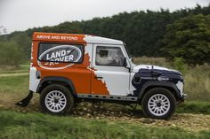 Bowler modified Land Rover Defender 90 Hard Top. It has 170HP With 332lp of torque