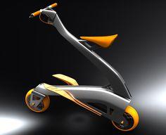 Stylish Zoomla Folding Bike for Quick Around-Town Transportation