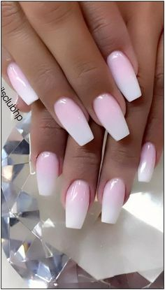 Nails french Cute and Beauty Ombre Nail Design ideas for This Year 2019 - Page 18 of 24 - Dai. Cute and Beauty Ombre Nail Design ideas for This Year 2019 - Page 18 of 24 - Dai. Cute Spring Nails, Summer Nails, Cute Nails, Pretty Nails, Ombre Nail Designs, Nail Polish Designs, Nail Art Designs, Nails Design, Pedicure Designs