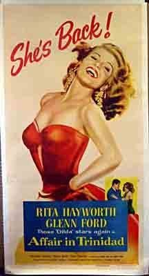 'Affair in Trinidad' -  Rita Hayworth 1952