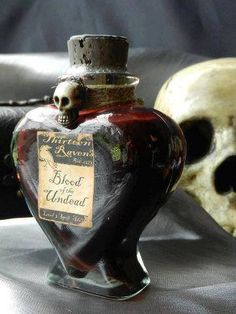 Magical Item-Blood of the undead