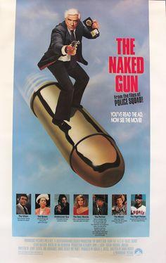 "Naked Gun (1988) Vintage Movie Poster - 27"" x 41"""