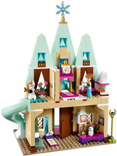 LEGO Disney Princess Frozen 41068 Slavje na Arendellskem gradu Disney Diy, Disney Frozen, Lego Frozen, Lego City Sets, Lego Sets, Disney Stars, Legos, Lego Friends Sets, Lego Girls