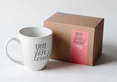 you are loved mug by pinkoliveinc on Etsy / We Heart It on imgfave