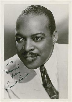 Just Count Basie, c. 1940s.