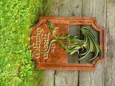 Lord of the Rings The Green Dragon Sign Magnet. Can we recreate The Green Dragon sign and hang it in our kitchen?