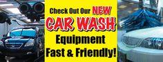 New Car Wash Equipment!