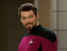 Image detail for -At last William T. Riker at Theme Galleries of trekcore.com