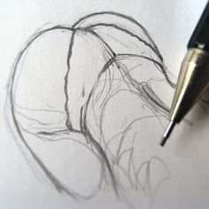 Doodle Drawing, Body Drawing, Anatomy Drawing, Figure Drawing, Body Sketches, Drawing Sketches, Sexy Drawings, Art Drawings, Poses References