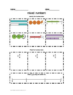 math worksheet : 1000 images about 4th grade math on pinterest  fractions  : Fraction Attraction Worksheet