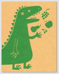 lisa jones studio - very healthy dino!