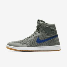 cheap for discount 18676 4a405 Air Jordan 1 Retro High Flyknit Clay Green Hyper Cobalt Gum Yellow White  919704-333