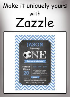 Shop Soccer Sports Party Football Birthday Invite created by WOWWOWMEOW. Personalize it with photos & text or purchase as is! Sports Birthday, Sports Party, Custom Invitations, Birthday Invitations, Happy Birthday Nephew, Soccer Sports, Custom Greeting Cards, Envelope Liners, Postcard Size
