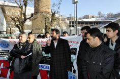 Bitlis'te Emekçiler Bütçeye Karşı Yürüdü