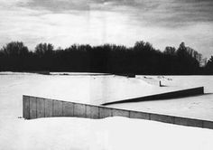 Shift. King City. Ontario. Canada. Richard Serra. 1970.