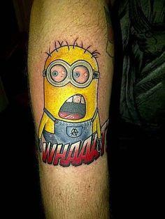 Minion Tattoo List | People Who Got the Minions Tatted On Them
