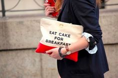 My thought exactly! Kate Spade clutch