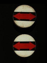Africa | Adornment | Zulu ear-discs, sold by dealer Galerie Bruno Mignot