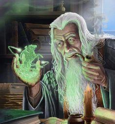 Tras resucitar como Gandalf el Blanco participó en las batallas de el Abismo de Helm y Minas Tirith, ayudando a los Hombres a derrotar a las fuerzas de Saruman y Sauron, quien fue totalmente derrotado. Al acabar la guerra y haber sido destruido el Anillo Único , parte hacia las Tierras Imperecederas junto a Elrond, Galadriel, Bilbo, y Frodo Bolsón