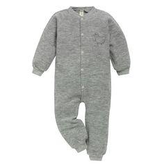 Pyjamas uten fot i ullfrotté