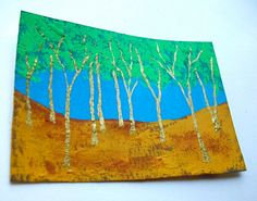Twilight Woods 155 ARTIST TRADING CARDS 2.5 x 3.5 by MikeKrausArt