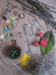 Make Your Own Fairy House | Fairy House Making Kit with nest (145)