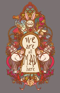 ideas quotes alice in wonderland lewis carroll tattoos Arte Disney, Disney Art, Chesire Cat, Alice Madness, Adventures In Wonderland, Wonderland Alice, Alice In Wonderland Background, Alice In Wonderland Characters, Were All Mad Here