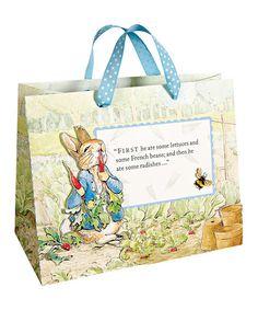 Medium Peter Rabbit Gift Bags - Set of Two by Peter Rabbit #zulily #zulilyfinds