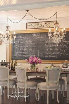 Eclectic Dining Room with Hardwood floors, Crystorama Etta 6 Light Golden Teak Crystal Chandelier, Exposed beam, Chandelier