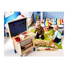 DUKTIG Tool box IKEA Encourages role play; children develop social skills by imitating grown-ups and inventing their own roles.